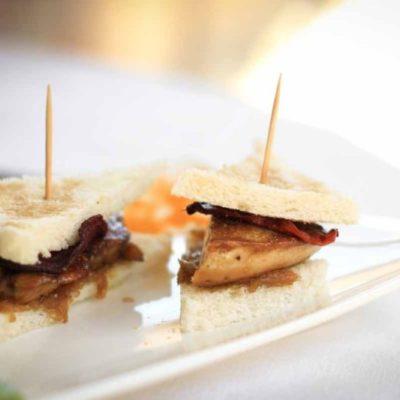 Burger escalope de foie de canard