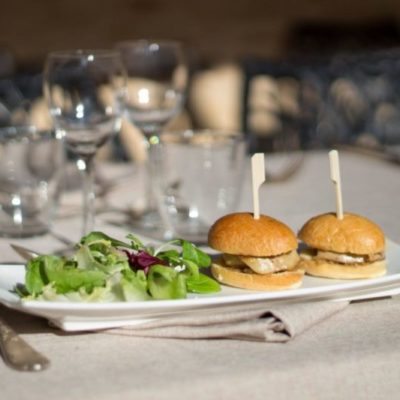 Burger d'escalope de foie gras