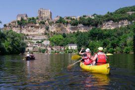 Canoë sur le Dordogne