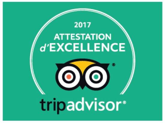 Award TripAdvisor 2017