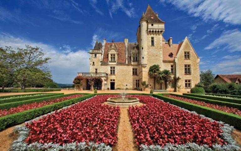 Les Milandes castle