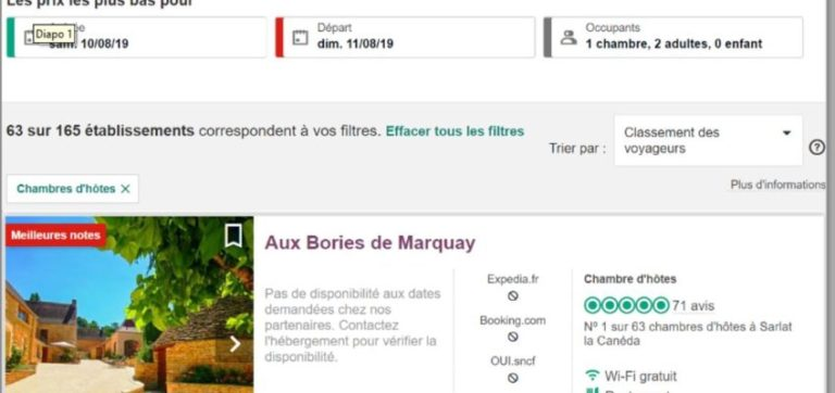 Aux Bories de Marquay, TOP 5 B&B in Sarlat in the Dordogne