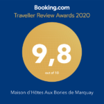 Award Booking Guest House 2020