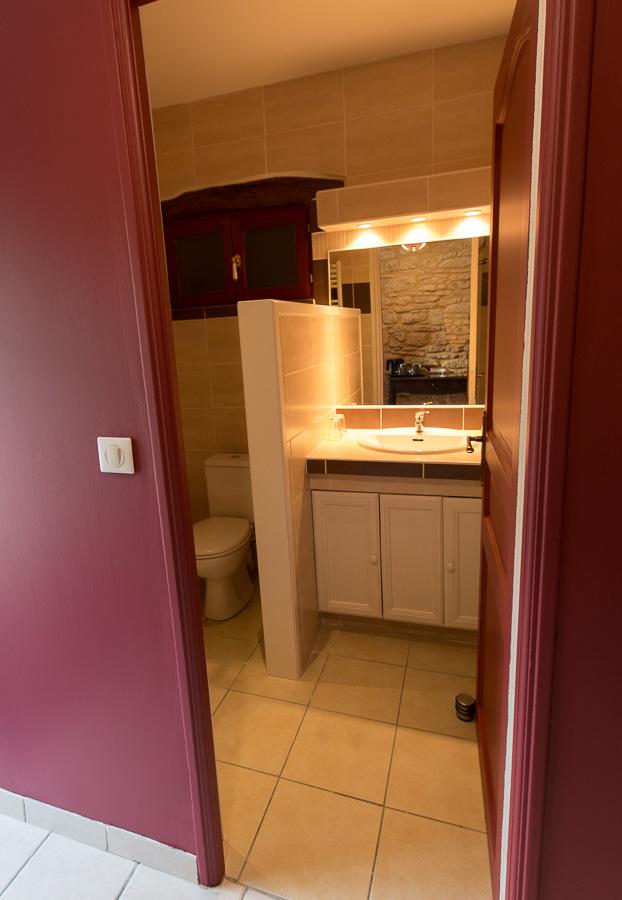 chambre double bergerac salle d'eau