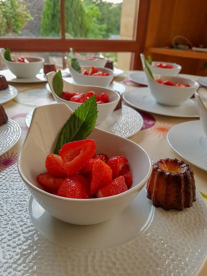 fraises du perigord