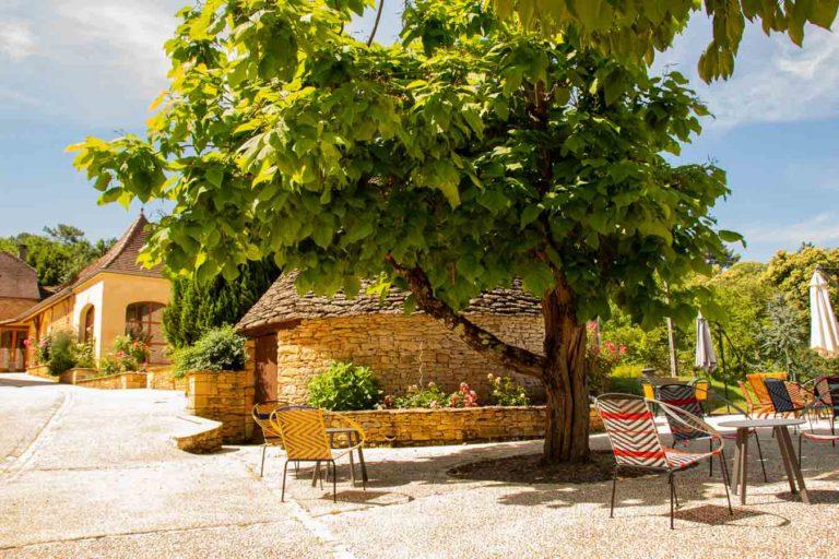 salon de jardin maison d'hote Périgord