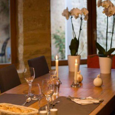 table plateau gourmand