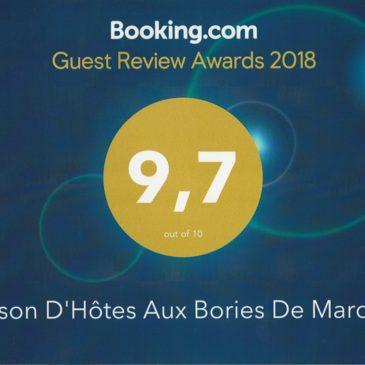 Award Booking 2018