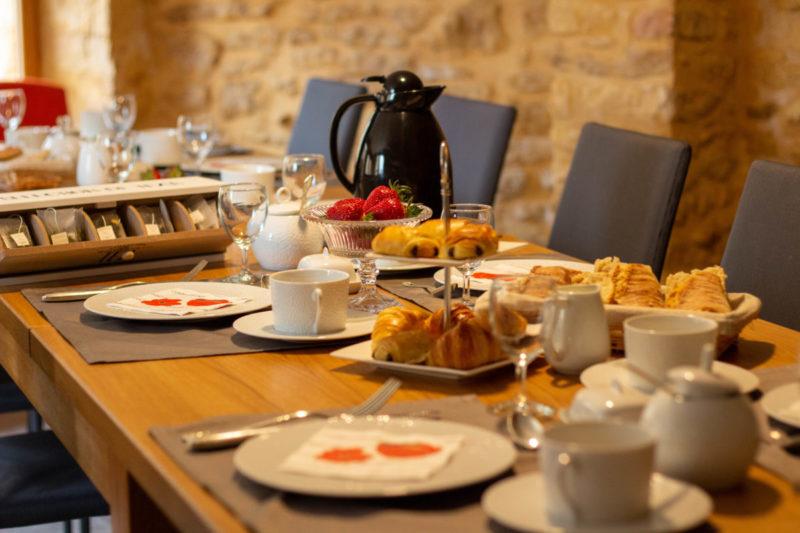Petit déjeuner maison d'hôtes proche de Sarlat