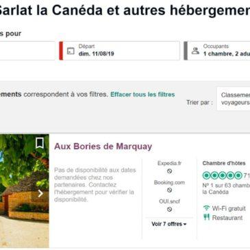 Aux Bories de Marquay ranked No. 1 in the Sarladais and No. 3 in Dordogne on Tripadvisor